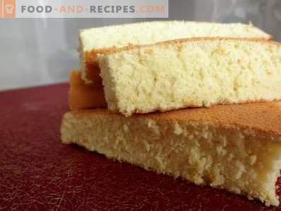 Gâteau éponge à l'orange