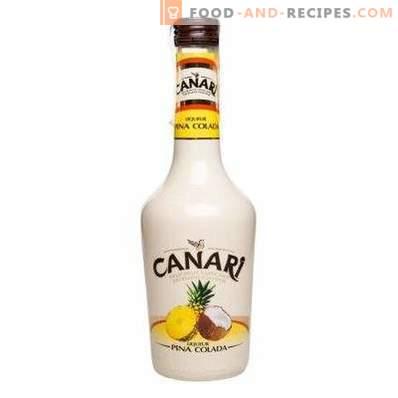 How to drink Pina Colada liqueur