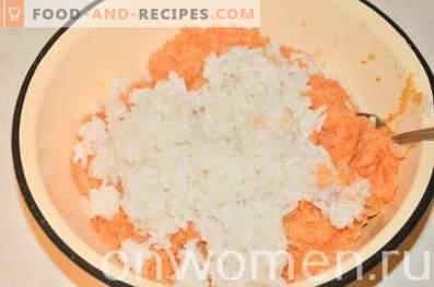 Polpette con verdure al forno