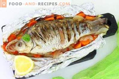 Pri kateri temperaturi pečemo ribe