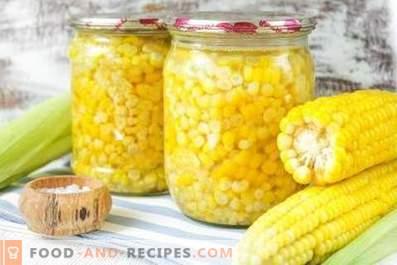 Консервирана царевица за зимата