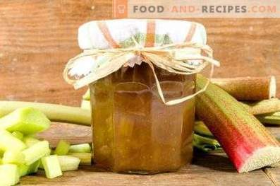 Rhubarb Sauce for Meat