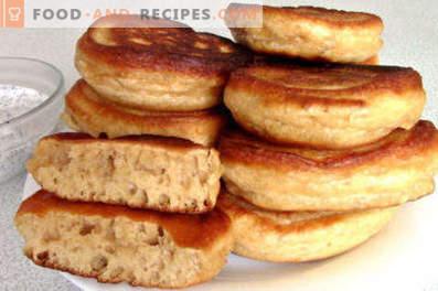 Pannenkoeken met gecondenseerde melk