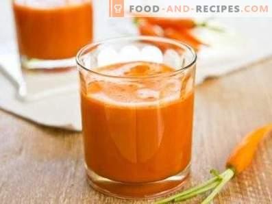 Smoothies de morcovi